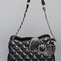 Karmaloop.com - Global Concrete Culture - The Quilt & Studs Bag  by *The Extras
