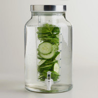 Glass Infuser Dispenser