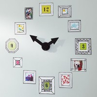 Picture Frame Clock Decal