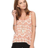 High-Low Tribal Tank | FOREVER21 - 2000040782