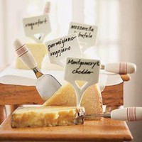 Cheese Markers, Set Of 4