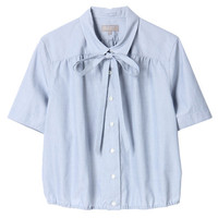 MARGARET HOWELL CHAMBRAY COTTON BLOUSE/mirabella(ミラベラ) ($200-500)