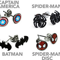Superhero Earrings -