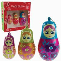 Babushka Christmas Ornaments by DCI