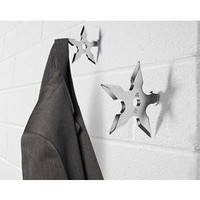 ThinkGeek :: Ninja Star Coat Hook