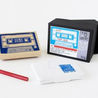 Mixtape Activity Stamp | Little Paper Planes