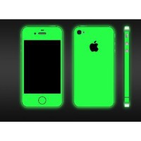 iPhone 4 and 4S Glow in the Dark Green Full Body Skin(VINYL ADHESIVE DECAL) Kit by Carbon iPhones®