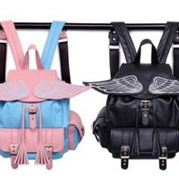 Cute Angel's Wing Backpacks