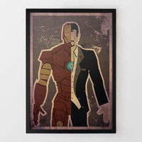 Iron Stark Print by Danny Haas at Firebox.com