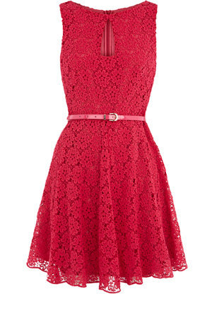 Oasis Shop | Powder Pink Lace Dress | Womens Fashion Clothing | Oasis Stores UK