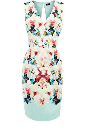Oasis Shop | Multi Aliza Print Dress | Womens Fashion Clothing | Oasis Stores UK