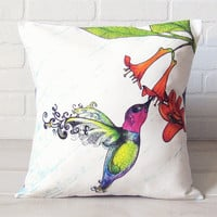Decorative Pillow Cover 16x16 Original Fabric by ZERYNDIPITY