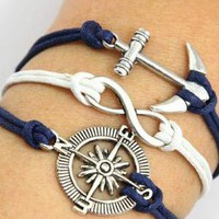 Anchor compass Bracelet