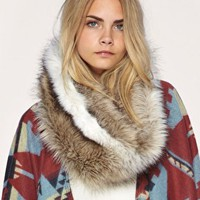 ASOS | ASOS Long Fantasy Fur Snood at ASOS
