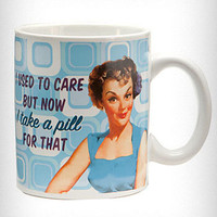 "Retro ""There's a Pill for That"" Mug 