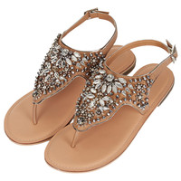 FLISS Embellished Sandals - View All - Shoes - Topshop