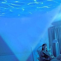 Relaxing Ocean Projector Pot And Speaker
