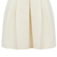 Oasis Skirts | Off White Textured Full Skirt | Womens Fashion Clothing | Oasis Stores UK