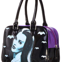 Sparkling Spook Lily Munster Purse
