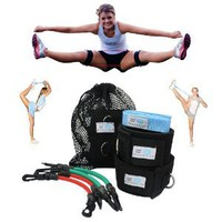 Cheer Fitness Training Combo (Myosource Kinetic Bands and Free Flexibility Stunt Strap)