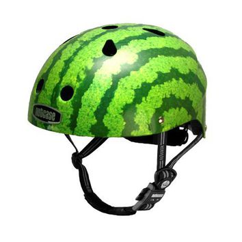 Nutcase Little Nutty Watermelon Bike Helmet, X-Small (46 cm-52 cm)
