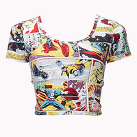 Marvel™ Comic Crop Top | FOREVER 21 - 2078997264