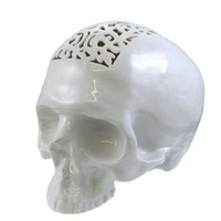 A+R Store - Filigree Skull Money Box