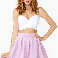 Dream Flower Skirt - Lilac