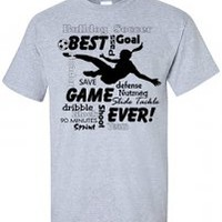 Girl Soccer Player T-Shirt