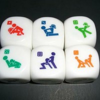Love Sex Dice Game Toy for Bachelor Party Adult Lovers/couple Novelty Toys (2 Pcs):Amazon:Toys & Games