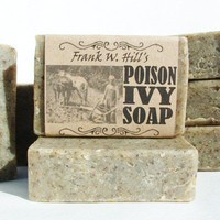 Poison Ivy Soap with Jewelweed - Treatment for Poison Ivy Oak Chiggers | appalachianheritagesoaps - Bath & Beauty on ArtFire