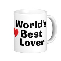 World's Best Lover Mug from Zazzle.com
