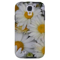 Dew-Kissed Daisies Galaxy S4 Case from Zazzle.com