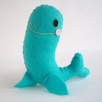 Seymour the Seal by lookmeem on Etsy