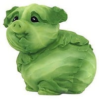 Amazon.com: Home Grown from Enesco Cabbage Piglet Figurine 3 IN: Home & Kitchen