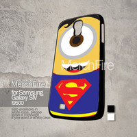 MFLM 008 Superman Minion Samsung Galaxy S4 case