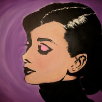 Audrey Hepburn by ARTISDUMB on Etsy