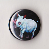Rhino pin by vereshchenko on Etsy