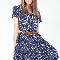 Jill Polka Dot Dress - ShopSosie.com
