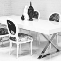 www.roomservicestore.com - X-Leg Dining Table