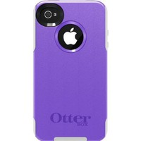 OtterBox Commuter Series for iPhone 4/4S - 1 Pack - Carrying Case - Purple 10/White:Amazon:Cell Phones & Accessories