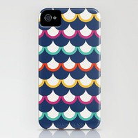Retro Scales iPhone Case by Jacqueline Maldonado | Society6