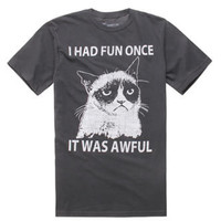 Grumpy Cat I Had Fun Once Tee at PacSun.com