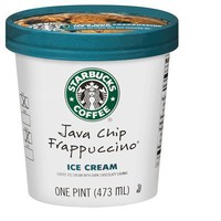 Starbucks Coffee Java Chip Frappuccino Ice Cream 16-oz.