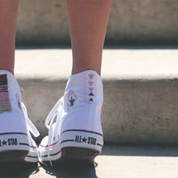 DIY Embroidered Chucks - Free People Blog
