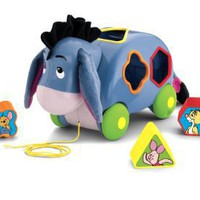 Fisher-Price Disney's Winnie the Pooh Eeyore's Pull Along Shape Sorter