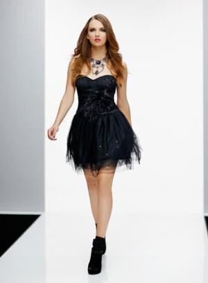 Black Feather Dress** - Sale & Offers - Miss Selfridge