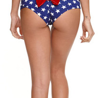 Kandy Wrappers Star Cheeky Bow Bottom at PacSun.com