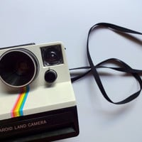 Vintage Polaroid Open Step Land Camera