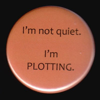 This Button Is Not Quiet by kohaku16 on Etsy
